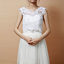 cheap Other Parts-Sleeveless Lace Party Evening Wedding  Wraps Vests