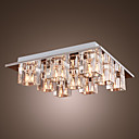 abordables Lámparas Colgantes-Lámpara Chandelier de Cristal con 9 Bombillas - ATTENDORN