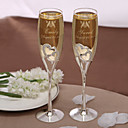 cheap Fans & Parasols-Crystal Toasting Flutes Gift Box Classic Theme Spring Summer Fall