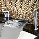 baratos TorneirasSprinkle®-Torneira de Banheira - Moderna Cromado Banheira e Chuveiro Válvula Cerâmica