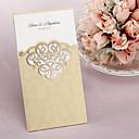 "cheap Wedding Invitations-Wrap & Pocket Wedding Invitations 50 - Invitation Cards Classic Style Art Paper 8 ½""×4 ½"" (21.5*11.5cm)"