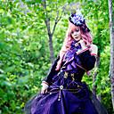 hesapli Video Oyun Kostümleri-Esinlenen Vocaloid Megurine Luka Video oyun Cosplay Kostümleri Cosplay Takımları Kırk Yama Top Cadılar Bayramı Kostümleri