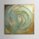 cheap Abstract Paintings-Oil Painting Hand Painted - Abstract Comtemporary Stretched Canvas / Rolled Canvas