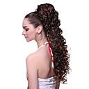 tanie Kucyki-Kucyki Falowana Włosie synetyczne Włosy w 100% z kanekalonu 20 cali Przedłużanie włosów Clip in / on