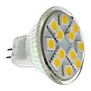 رخيصةأون سبوت لايتس LED-2 W 160 lm GU4(MR11) LED ضوء سبوت MR11 12 الخرز LED مصلحة الارصاد الجوية 5050 أبيض دافئ 12 V