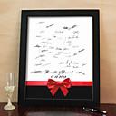 halpa Viuhkat ja päivänvarjot-henkilökohtaisen allekirjoituksen canvas frame - punainen bowknot (sisältää frame)