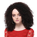 cheap Synthetic Capless Wigs-Synthetic Wig Curly Layered Haircut Synthetic Hair Waterfall Brown Wig Women's Short Full Lace