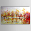 halpa Maisema maalaukset-Hang-Painted öljymaalaus Maalattu - Maisema Comtemporary Kangas