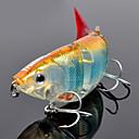 billige Fiskesluker & fluer-1 pcs Hard Agn / Elritse / Sluk Hard Lokkemat / Elritse Hard Plastikk Søfisking / Ferskvannsfiskere