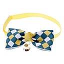 cheap Dog Collars, Harnesses & Leashes-Cat / Dog Collar Bow Tie / With Bell Nylon Brown / Blue / Pink