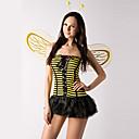 זול תחפושות מבוגרים-קטנה וחמוד דבורה צהובה והתלבושות של פסים השחור פוליאסטר נשים (2 חלקים)