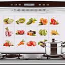 זול אספקת חומרי ניקוי למטבח-מִטְבָּח ציוד ניקיון אלומיניום Oil-Proof Stickers כלים 1pc
