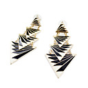 cheap Historical & Vintage Costumes-Women's Drop Earrings Earrings Casual / Daily Fashion Jewelry Black For Party Daily
