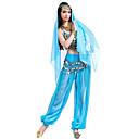 hesapli Pratik Hediyelikler-Göbek Dansı Kıyafetler Kadın's Şifon Boncuklama / Payet / Madeni Para Top / Pantalonlar / Başlık / Performans