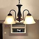 tanie Kinkiety Ścienne-BriLight 3 światła Lampy widzące Downlight Metal Szkło Styl MIni 110-120V / 220-240V Nie zawiera żarówek / E26 / E27