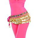 hesapli Banyo dekorasyonu-Göbek Dansı Kemer Kadın's Eğitim Polyester Boncuklama / Madeni Para / Kristaller / Yapay Elmaslar / Balo Salonu