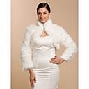 cheap Wedding Wraps-Long Sleeve Faux Fur Wedding / Party Evening / Casual Wedding  Wraps / Fur Wraps With Coats / Jackets