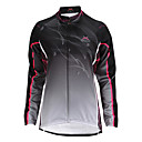 cheap Rhinestone & Decorations-Mysenlan Women's Long Sleeve Cycling Jacket - Black Red Blue Stripe Bike Jacket Top, Windproof Thermal / Warm Fleece Lining, Fall Winter, Polyester Fleece / Stretchy