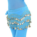 cheap Dance Accessories-Belly Dance Belt Women's Training Chiffon Beading / Sequin Hip Scarf / Ballroom