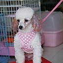 baratos Adestramento para Cães-Cachorro Arreios Luzes LED Têxtil Preto Verde Azul Rosa claro