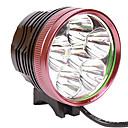 preiswerte Handwerkzeuge-Stirnlampen Radlichter - Radsport 18650 5500 lm Batterie Camping / Wandern / Erkundungen