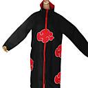 ieftine Măști-Inspirat de Naruto Akatsuki Anime Costume Cosplay Costume Cosplay Imprimeu Manșon Lung Manta Pentru Bărbați