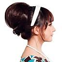 preiswerte Haarteil-Echthaar Haarverlängerungen Synthetische Erweiterungen Locken Klassisch Synthetische Haare Kurz Lang Haar-Verlängerung Clip In / On 1pc Damen Alltag