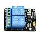 preiswerte Relais-2-Kanal-5V hohe Auslöserelaismodul für (für die Arduino) (funktioniert mit offiziellen (für Arduino) Platten)