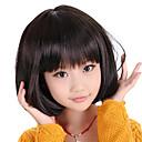 olcso Szintetikus parókák-Szintetikus parókák Réteges frizura Szintetikus haj Fekete Paróka