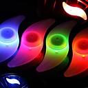 halpa Pyöräilyvalot-venttiilin suojus vilkkuvia valoja / pyörän valot / Polkupyörän ilmaisevat valot LED Pyöräilyvalot Pyöräily Vedenkestävä, Värikäs Pyöräily / IPX-4