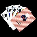 저렴한 사용자 정의 시계-개인화 된 선물 분홍색 아름다움 패턴 플레이 카드
