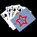 preiswerte Customized Karten-Personalisierte Geschenke Star Pattern-Spielkarte für Poker