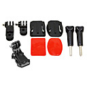 cheap Hard Drive Cases-Accessories Mount / Holder High Quality For Action Camera Gopro 5 Gopro 4 Black Gopro 4 Session Gopro 4 Silver Gopro 4 Gopro 2 Sports DV