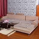 billige Sykkeljerseys-elaine bomull kf sjekk mønster bordure kaffe sofa pute 333581