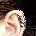 preiswerte Modische Halsketten-Damen Ohr-Stulpen - Totenkopf Silber Für Party Alltag Normal
