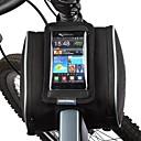 abordables Bolsas para Manillar-ROSWHEEL Bolso del teléfono celular / Bolsa para Cuadro de Bici 5.5 pulgada Pantalla táctil Ciclismo para Samsung Galaxy S4 / iPhone 5/5S / iPhone 8/7/6S/6