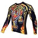 preiswerte Kigurumi Pyjamas-ILPALADINO Herrn Langarm Fahrradtrikot Cartoon Design / Tier Fahhrad Trikot / Radtrikot, warm halten, Rasche Trocknung, UV-resistant