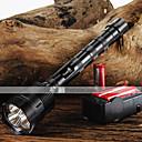 billige Lommelygter-trustfire LED Lommelygter LED 3800/3000 lm 5 Tilstand LED med batterier og oplader Justerbart Fokus Glidesikkert Greb