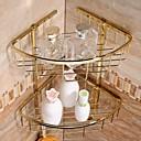 povoljno Držači za toaletni papir-Zlato-oplata Brass Materijal kupaonica Baskets