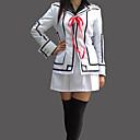 abordables Disfraces de Anime-Inspirado por Vampire Knight Luca Souen Animé Disfraces de cosplay Trajes Cosplay / Uniformes Escolares Retazos Manga Larga Chaqueta / Camisas / Falda Para Mujer
