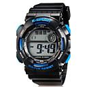 baratos Relógio Esportivo-Relógio Esportivo / Relógio de Pulso Silicone Banda Casual Preta / Dois anos / Maxell626 + 2025