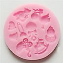 preiswerte Backformen-Backwerkzeuge Silikon Umweltfreundlich / nicht-haftend Kuchen / Plätzchen / Obstkuchen Cartoon Shaped Backform 1pc