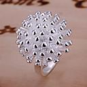 ieftine Cercei-Inel - Stilat Argintiu Pentru Nuntă / Party / Seara