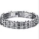 cheap Religious Jewelry-Men's Tennis Bracelet Personalized Fashion Stainless Steel Jewelry Christmas Gifts Daily Costume Jewelry