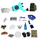 preiswerte professionelle Tattoo-Kits-Tätowiermaschine Professionelles Tattoo Kit - 1 pcs Tattoo-Maschinen, Professionell LED-Stromversorgung Case Not Included 1 x-Legierung Tattoo Maschine für Futter und Schattierung