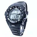 preiswerte LED-Spotleuchten-Herrn Sportuhr / Digitaluhr Japanisch Armbanduhren für den Alltag Silikon Band Charme Schwarz / Zwei jahr
