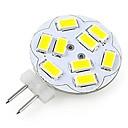 halpa Bi-pin LED-lamput-200lm G4 LED-kohdevalaisimet A60(A19) 12 LED-helmet SMD 5730 Koristeltu Kylmä valkoinen 12V / RoHs