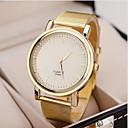 hesapli Elbise Saat-Kadın's Bilek Saati Gündelik Saatler Alaşım Bant İhtişam / Moda Altın Rengi