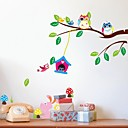 preiswerte Wand-Sticker-Landschaft Tiere Stillleben Freizeit Fantasie Botanisch Wand-Sticker Tier Wandaufkleber Dekorative Wand Sticker, Vinyl Haus Dekoration