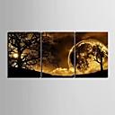 preiswerte Kunstdrucke-Landschaft Drei Paneele Vertikal Druck Wand Dekoration Haus Dekoration